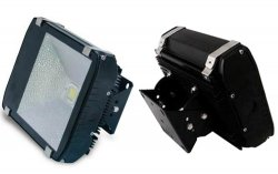 80 Watt - 12/24 Vdc Flood Light